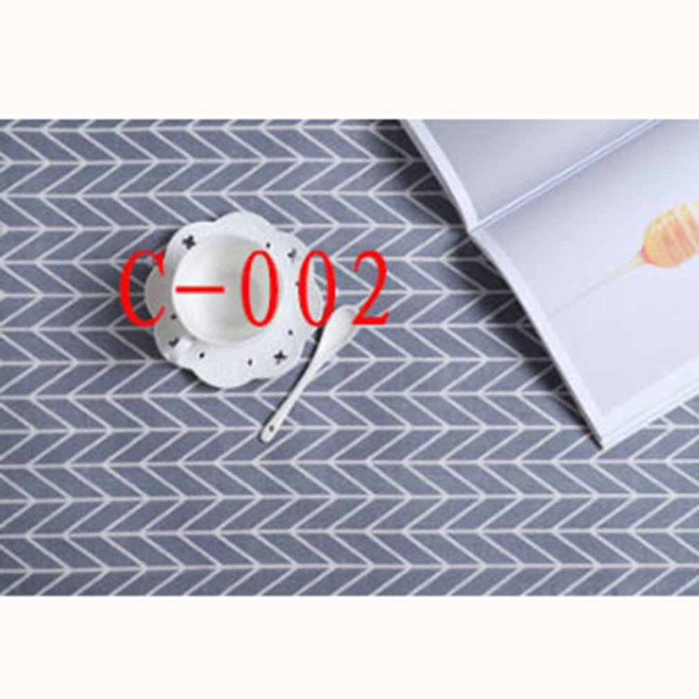Cotton polyester tablecloth  placemat  table cloth  tea towel background cloth multi-purpose tablecloth