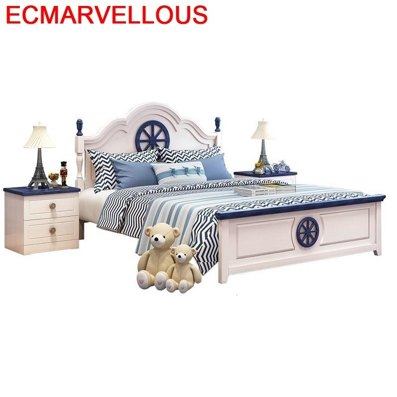 Tempat Tidur Tingkat Mobilya Cocuk Ranza For Children Muebles De Dormitorio Bedroom Furniture Cama Infantil Wood Wooden Kids Bed