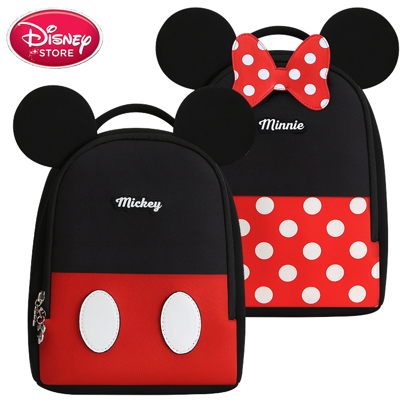 Genuine Disney Bags Packback Minnie Mickey Mouse Baby Bags Mummy Diaper Bag Travel Handbag Nappy For Baby Care