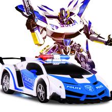 RC Car robot transformujący się Model pojazdu sportowego roboty zabawki fajne zdeformowany samochód samochody elektryczne zabawki dla dzieci prezenty dla chłopców tanie tanio LKCOMO Z tworzywa sztucznego CN (pochodzenie) 23X9 5X5 5CM As description Pilot zdalnego sterowania none 5-20m Mode1 Mode2