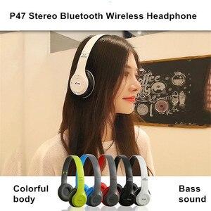 Image 2 - אלחוטי אוזניות מתקפל סטריאו בס Bluetooth אוזניות קיד ילדה קסדת מתנה, עם מיקרופון USB Bluetooth 5.0 מתאם עבור טלוויזיה משחקים