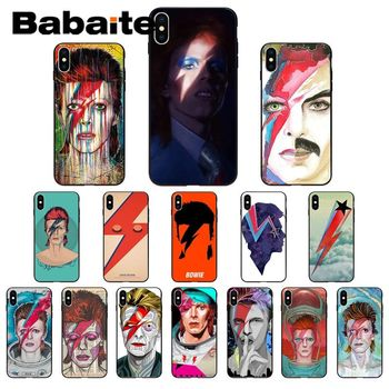Babaite lightning David Bowie High Quality Phone Case for iPhone 11 pro XS MAX 8 7 6 6S Plus X 5 5S SE XR case image