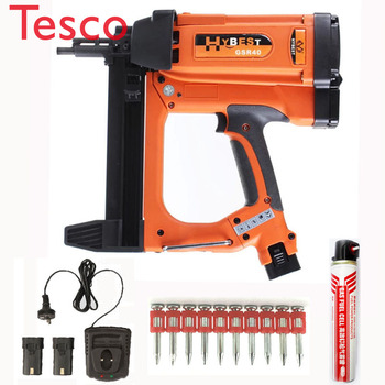 Nail Gunatro Pneumatic Air Nail Gun Nailer for Concrete Wall hot sale 1013jx high quality pneumatic nail gun kit pneumatic brad nailer kit air nailer gun straight nail gun pneumatic tools