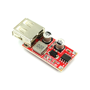 9V/12V/24V to 5V DC-DC Step Down Car Charging Car Charger 3A Output USB Module Diy Electronic Diy Kit Pcb Board image