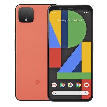Перейти на Алиэкспресс и купить Абсолютно новый мобильный телефон google pixel 4, 6 ГБ ОЗУ, 64B ПЗУ, 5,7 дюймов, Восьмиядерный процессор Snapdragon 855, Android 10, двойная задняя камера, телефон ...