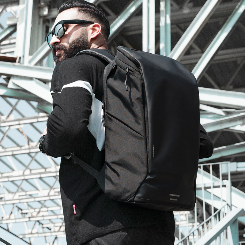 New Arrival Men Fashion Backpack 15.6' Laptop Backpack Waterproof High capacity Travel Backpack Daily School Rucksack 5