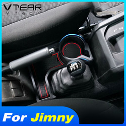 Vtear For Suzuki Jimny Center Console Storage Box Container Holder Car Interior Styling Decoration Accessories Parts 2019-2020