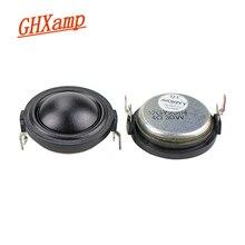 Ghxamp 1.5 인치 25 w 자동차 트위터 실크 필름 네오디뮴 마그네틱 자동차 4ohm 높은 피치 2pcs
