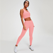 seamless Women Active Wear Workout suit Outfit Yoga Suits High Waisted Leggings Tummy Control Sport pants gym Sportswear active net yarn wave point pattern high waisted leggings