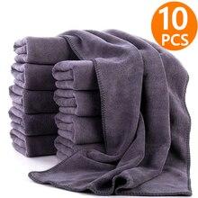 Serviette de lavage de voiture en microfibre, 3/5/10 pièces, Extra doux, chiffon de séchage, nettoyage de voiture, accessoires