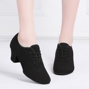 Image 3 - Женские классические туфли для латиноамериканских танцев, красные, черные кроссовки для современных танцев, обувь для джаза, бальных танцев, обувь для тренировок на каблуке 5 см