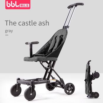 2 in 1 baby stroller travel l Trailer micr trike xl with baby carriage baby carriage for newborn baby walker 0-7Y 3in1