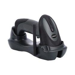 2D Long Transmission distance Barcode Scanner Handheld CMOS 433MHz Wireless USB Charging Barcode Reader