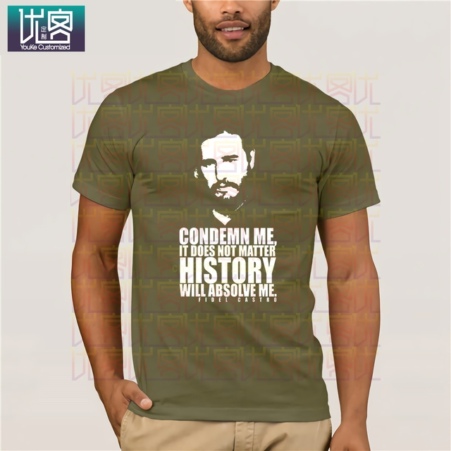 2020 nouveau Style dété mode T-shirt Fidel Castro T-shirt révolution Cuba communiste hommage Che T-shirt politique hommes et femmes