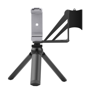 Image 5 - Trípode de Metal para Selfie, soporte plegable para móvil, Clip adaptador para DJI Osmo Pocket/Pocket 2, accesorios de cámara de cardán de mano