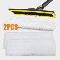 2 stücke Reinigung Lappen Mopp Tuch Fit Für Karcher EasyFix Tuch Set Boden SC1 SC2 SC3 SC4 SC5 Boden reinigung Ersatz Tuch-in Reinigungstücher aus Heim und Garten bei