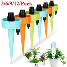 3/6/9/12PCS Automatic Irrigation Watering Spike Plants Indoor Household Auto Drip Irrigation Watering System Auto Watering Spike nokian hakkapeliitta 9 185 65r15 92 t xl spike