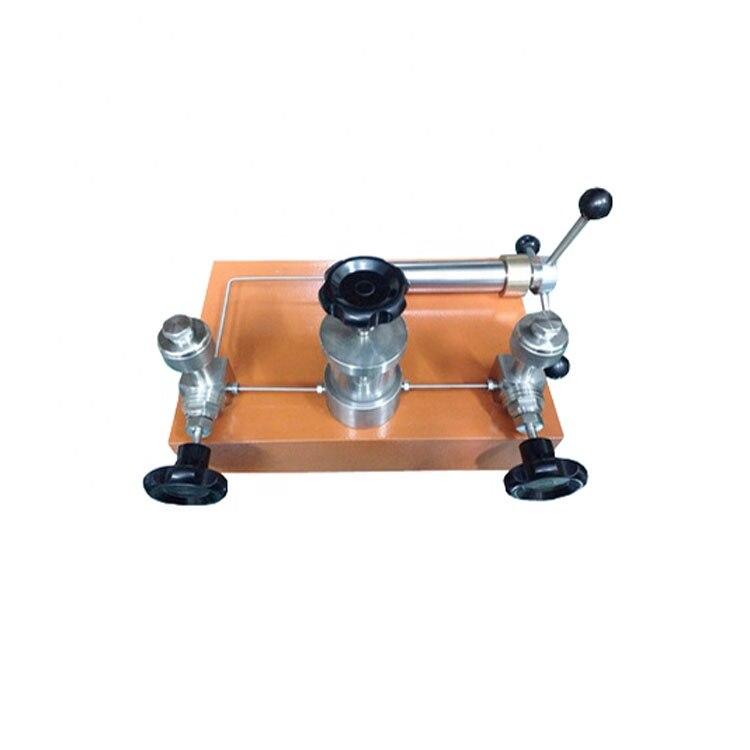 ESM-HS-60 Manual Pressure Pump Tester Pressure Gauge Calibration Table