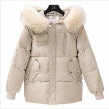 2019 Women's Down Jacket hooded basic Coat Female Jacket Chaqueta Mujer short Women's Jacket Parka Casual Trench Puffer Jacket