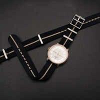 Jednego przejazdu w stylu Nato specjalne z nylonu na rękę pasek do pasek w barwach Nato 20mm 22mm dla zegarków Tudor pasek do zegarka
