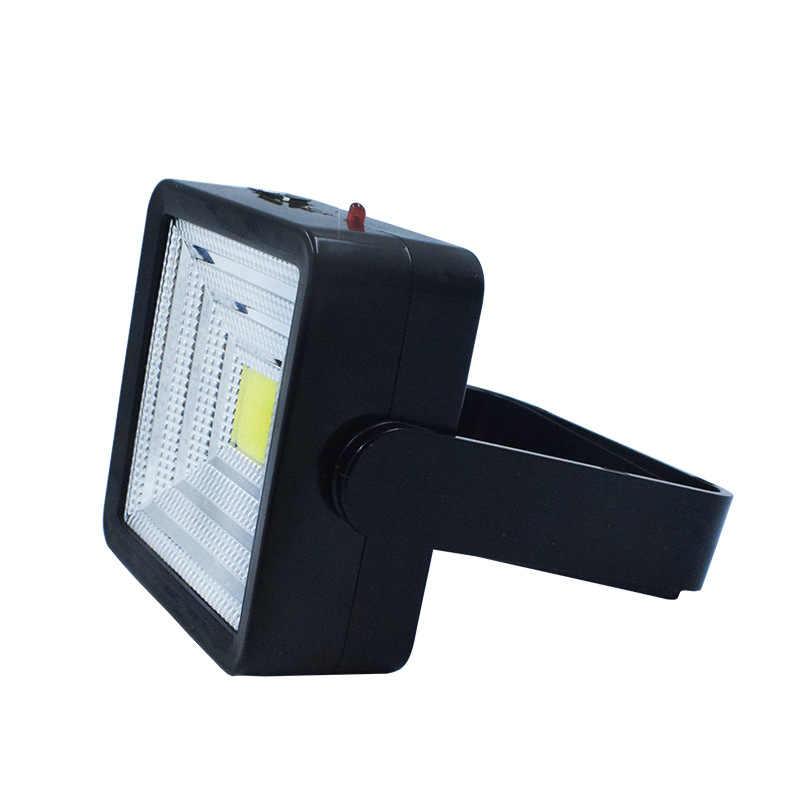 USB/carga solar impermeable IP65 imán externo giratorio lámpara de emergencia Led luz solar. Para iluminación de calle de césped al aire libre