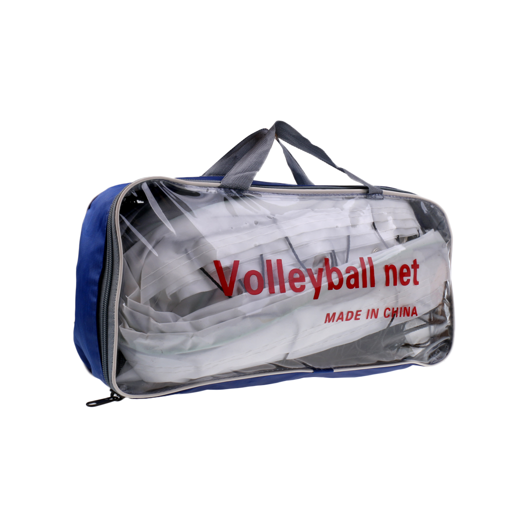 Standard Size Volleyball Net Beach Indoor Outdoor Netting With Storage Bag