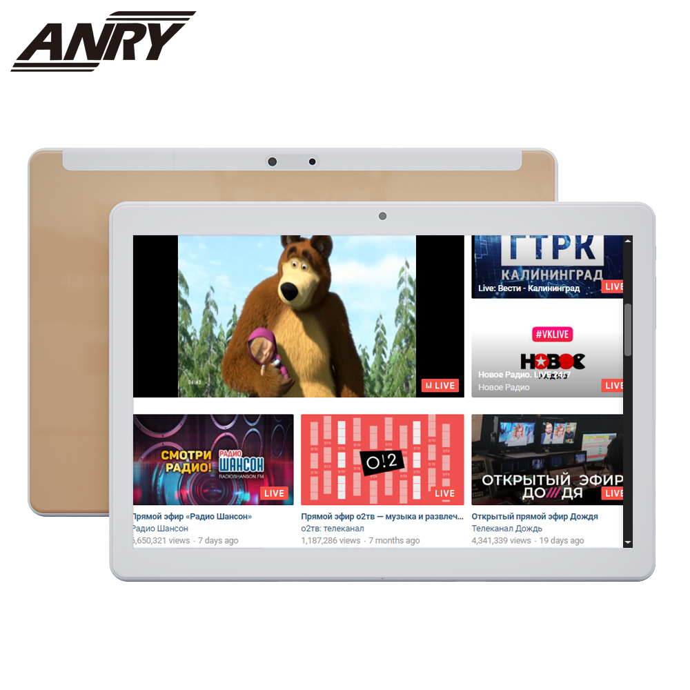 ANRY Children Tablet Kids 10 Inch Quad Core Android 7.0 MTK6580 16GB ROM 3G Phone Tablets