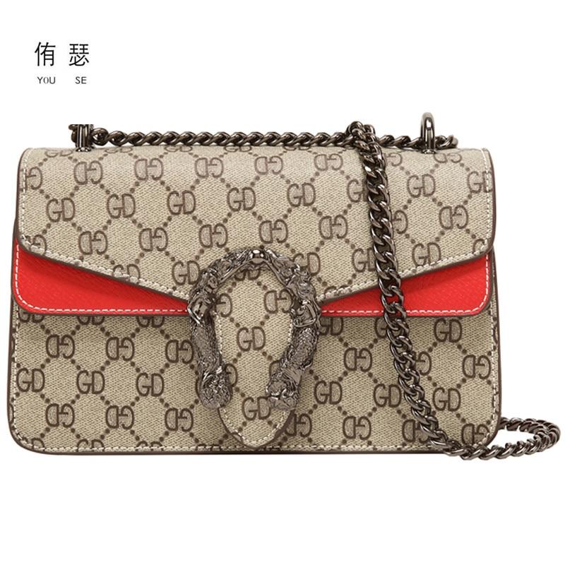 2020 Women Trellis Small Square Pack Shoulder Bag Fashion Star Sequin Designer Messenger Crossbody Bag Clutch Wallet Handbags|Shoulder Bags| - AliExpress