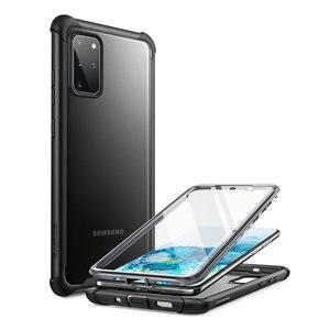 Чехол Clayco Forza для Samsung Galaxy S20 Plus, Прочный чехол с полным покрытием, Встроенная защитная пленка, совместима с идентификацией отпечатков пальце...