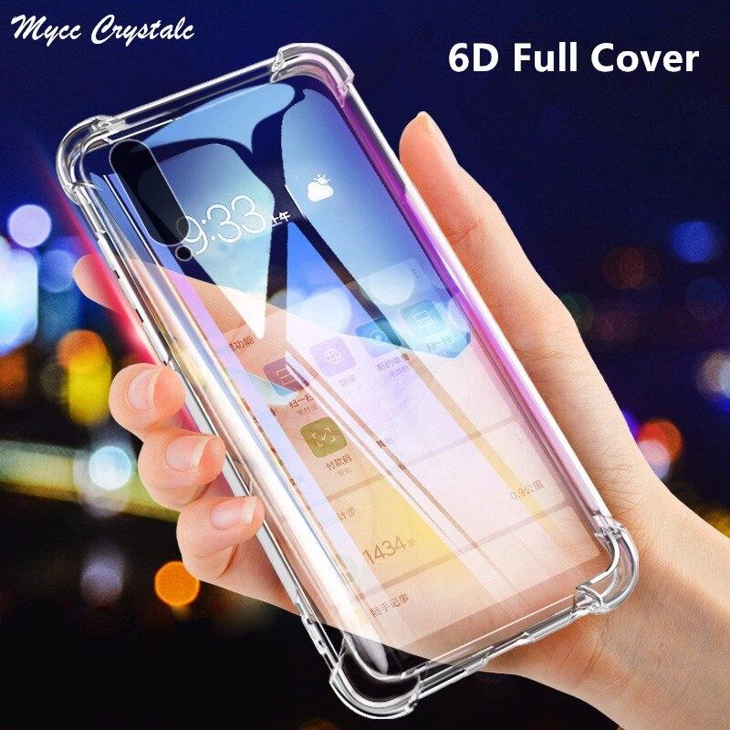 Airbag Shell Soft Clear Cover For LG V40 V30 V20 V50 V50S V30S V35 V60 W10 W30 G6 G9 G8X G8S G8 G7 Thinq G7+ One Shockproof Case