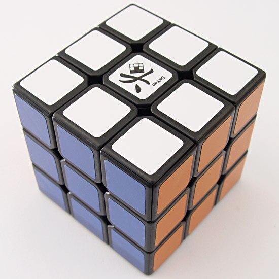 DaYan V ZhanChi 57 mm magique cube de vitesse puzzle ultra-lisse cubo magico professionnel classique autocollants jouets pour enfants