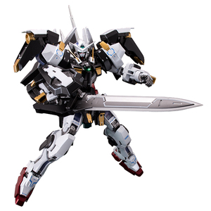 Image 2 - BANDAI MG 1/100 PB 00 GN 001/hs A01 Avalanche Exia GUNDAM Black and White Snow Color Action Figures Christmas Gift Toys