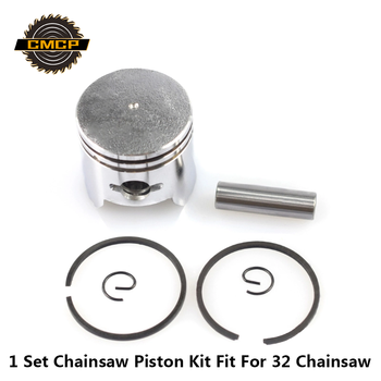 1 Set Chainsaw Piston Kit Fit For 32 32mm Spare Parts