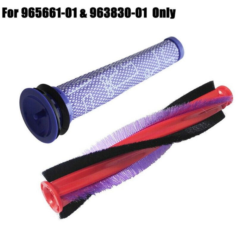 Replacement Vacuum Brushroll + Motor Filter Strainer Fit For Dyson DC59 DC62 SV03 SV073 V6 Vacuum Cleaner Parts