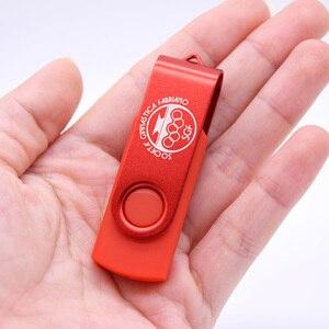 Image 2 - LOGO gratuit métal USB lecteur Flash Rotable 1GB 2GB Pendrives 2.0 128MB DHL expédition plus rapide mémoire bâton 50 pcs/lot pas cher prix cadeaux