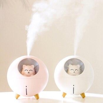Humidificador de aire para mascotas, difusor ultrasónico de 220ml de aceites aromáticos,...