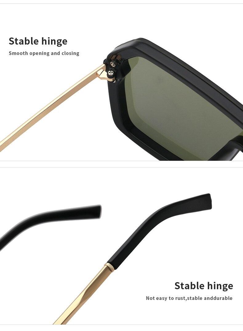 Luxury Brand Women's Sunglasses 2021 Trend One-Piece Lens Rimless Sunglass Female Designer Retro Sun Glasses For Women Gradient (17)