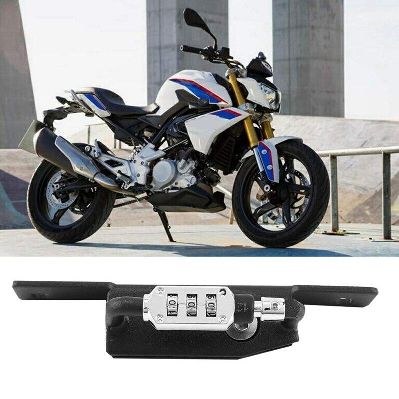 Helmet Lock Password Mount Hook Black Side Anti-Theft Security Fits For BMW Rnine T/R Nine T R9T/R NineT