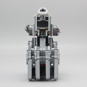 Image 2 - 05126 primer orden Heavy Scout Walker Star Wars en miniatura Kit de bloques de construcción ladrillos compatibles legoed 75177 regalos de navidad DIY