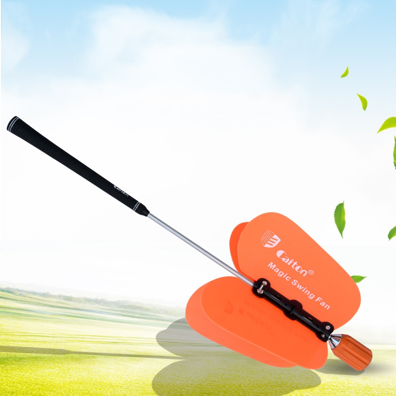 Sports Training Golf Aids Warm-Up Golf Pinwheel Swing Fan Professional Golf Tools Power Resistance Practice Golf Accessories