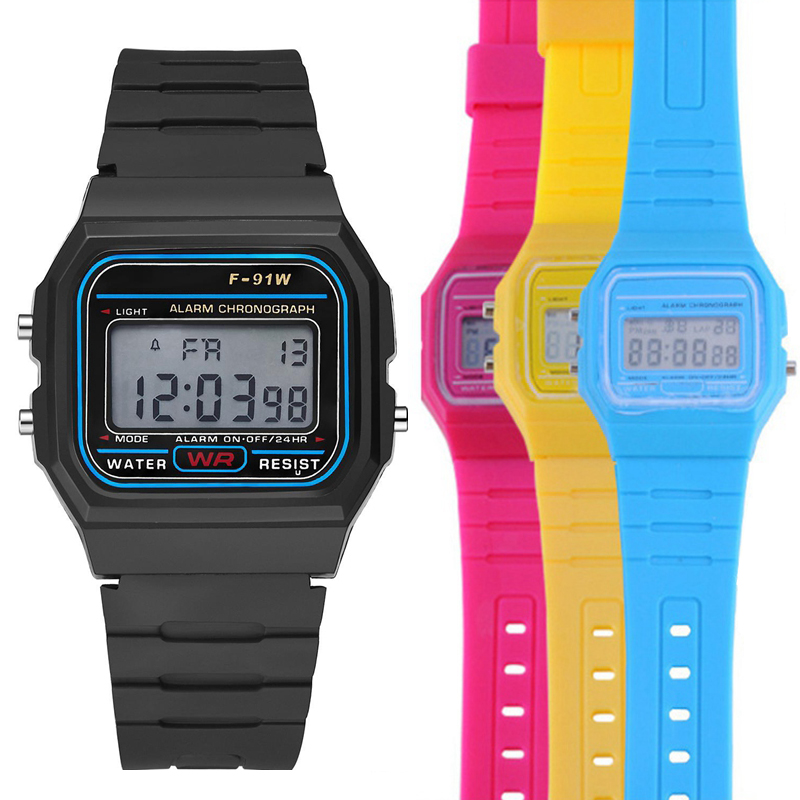 Relogio Digital Kids Watches Boys Fashion Sport Watch LED Analog Digital Smart Sport Waterproof WristWatch Girls Baby Watch