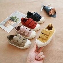 Детская парусиновая обувь от 4 до 6 лет повседневная с волшебной