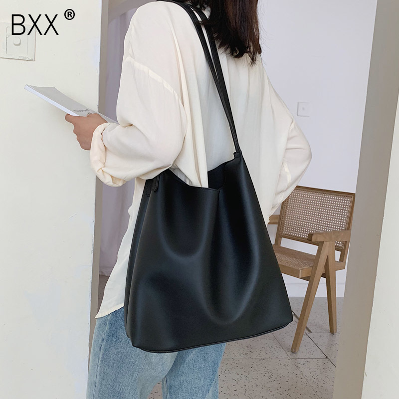 [BXX] Quality Crossbody Bag For Women 2020 Spring New Arrival High Capacity Shoulder Messenger Bag Female Fashion Handbags HK344