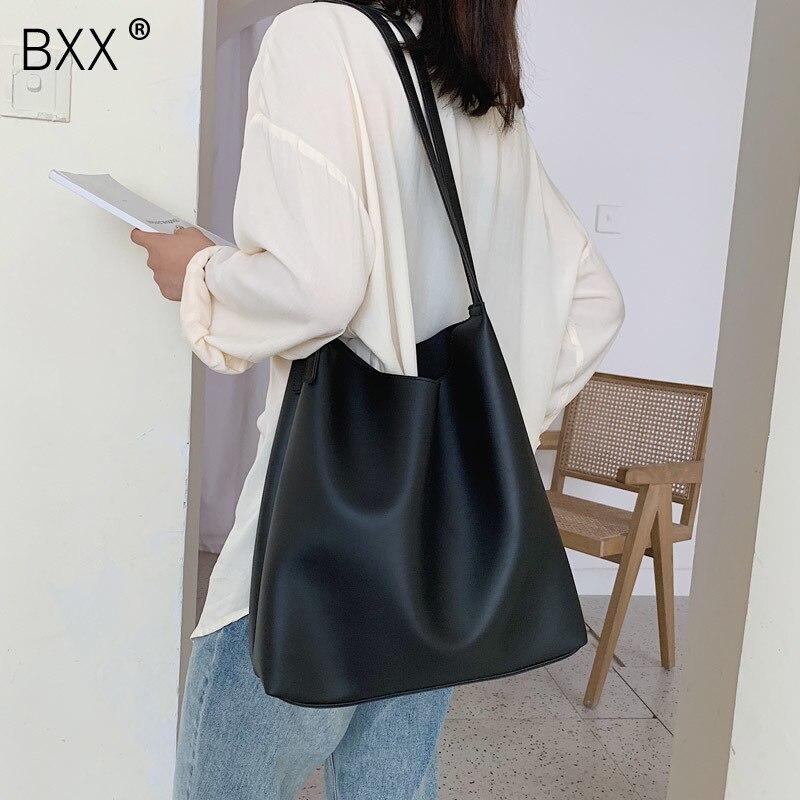 [BXX] Quality Crossbody Bag For Women 2020 Spring New Arrival High Capacity Shoulder Messenger Bag Female Fashion Handbags HK344