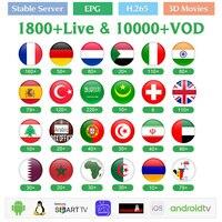 IPTV France Arabic Belgium Germany QHDTV 1 Year IPTV Subscription IP TV Algeria Italy Qatar Netherlands IPTV French IP TV Code
