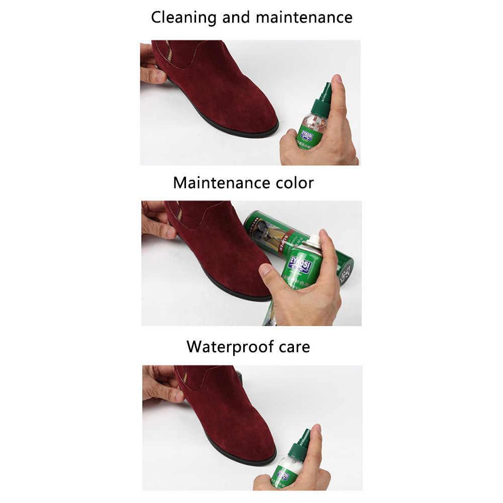 100 Ml Macchia Repellente Universale per Le Scarpe di Stoffa Invisibile Spruzzo Impermeabile Pratico Non Tossico Liquido Inodore Protezione