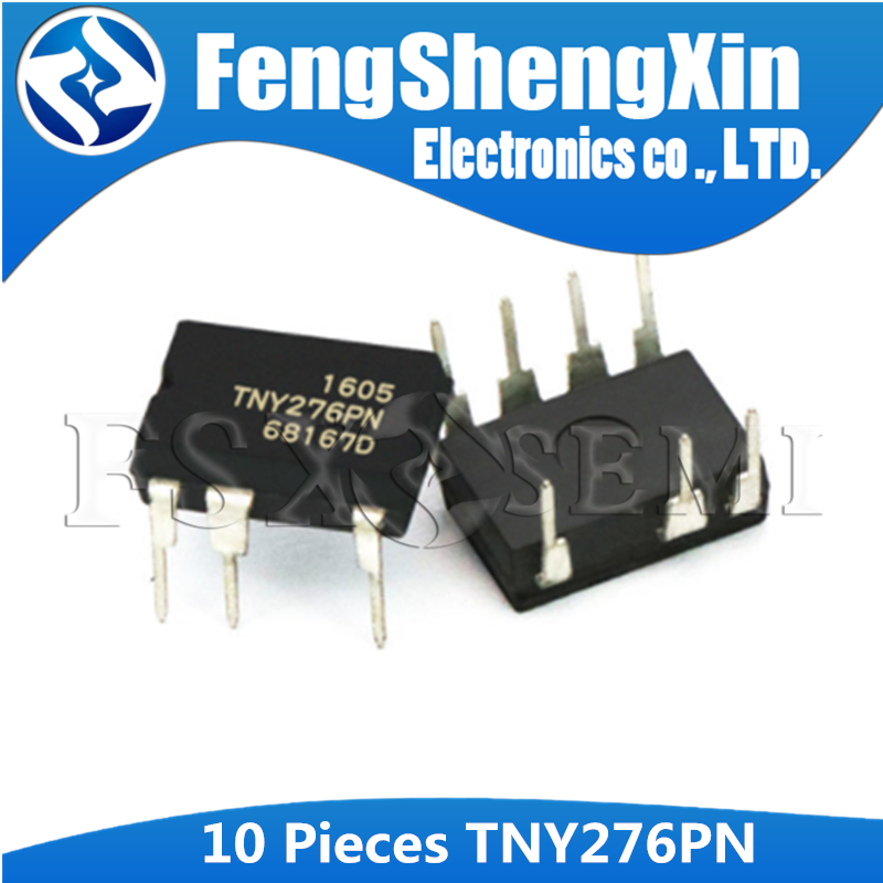 10pcs/lot <font><b>TNY276PN</b></font> DIP-7 TNY276 Off-Line Switcher IC image