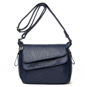 Image 5 - Hot New Crossbody Bags For Women Flaps Luxury Handbags Bags Designer Leather Vintage Female Messenger Bag Ladies Shoulder Bags
