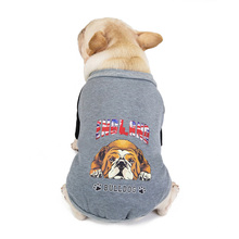 Soft Warm Dog Coat Winter Puppy Shirt Clothes French Bulldog Pug Small Jacket Fleece Lining Chihuahua Clothing
