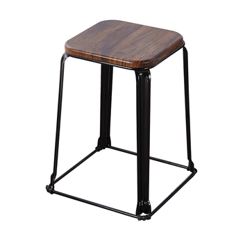 Simple Household Stool, College Students' Dormitory, Increased Space, Iron Art Set Stool, Fashionable And Creative High-end Net
